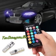 ➤ LED Многоцветни Крушки за Габарити с дистационно