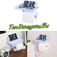 Поставка за Тоалетна Хартия със Стойка за Телефон